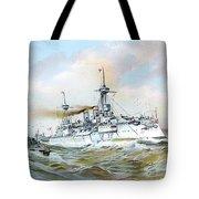1895 - The Brandenburg Squadron At Sea - Color Tote Bag