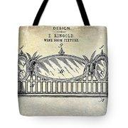 1895 Wine Room Fixture Design Patent Tote Bag
