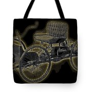 1896 Quadricycle Henry Fords First Car Tote Bag