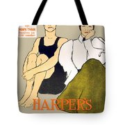 1897 - Harpers Magazine Poster - Color Tote Bag