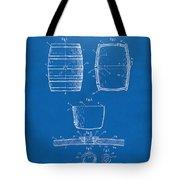 1898 Beer Keg Patent Artwork - Blueprint Tote Bag