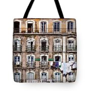 18th Century Building In Lisbon Tote Bag