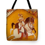 18th Century Indian Painting Tote Bag