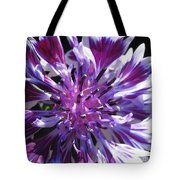 Bachelor Button From The Frosted Queen Mix Tote Bag