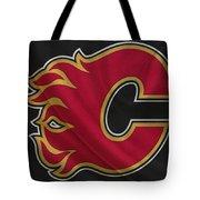 Calgary Flames Tote Bag