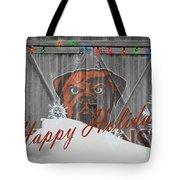 Cleveland Browns Tote Bag by Joe Hamilton