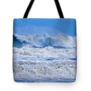 Hurricane Storm Waves Tote Bag