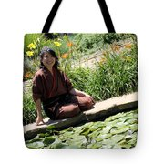Japanese Women Tote Bag