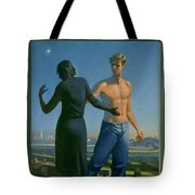 19. Jesus Appears To Mary / From The Passion Of Christ - A Gay Vision Tote Bag