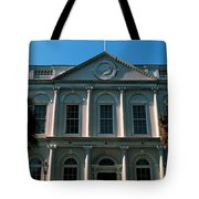 Low Angle View Of A Government Tote Bag