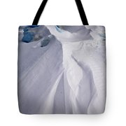 Pack Ice, Antarctica Tote Bag