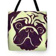 Pug The Dog Tote Bag