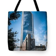 Skyline Of Uptown Charlotte North Carolina Tote Bag