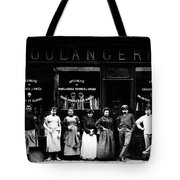 1900 Parisian Bakery Tote Bag