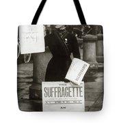 1900s British Suffragette Woman Tote Bag