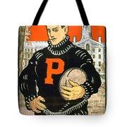 1901 - Princeton University Football Poster - Color Tote Bag