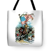 1902 Rough Rider Teddy Roosevelt Tote Bag