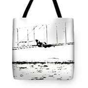 1902 Wright Brothers Glider Tests Tote Bag