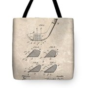 1903 Golf Club Patent Tote Bag
