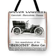 1904 - Daimler Motor Company Mercedes Advertisement - Color Tote Bag