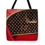 1904 Franklin Open Four Seater Grille Emblem Tote Bag by Jill Reger