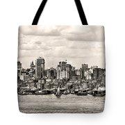 1906 Manhattan Panorama Tote Bag