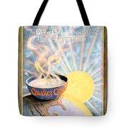 1906 - Quaker Oats Cereal Advertisement - Color Tote Bag