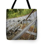 1906 Ship Wreck Sturgeon Point Lighthouse Tote Bag