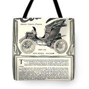 1907 - Columbia Victoria Phaeton Electric Automobile Advertisement Tote Bag