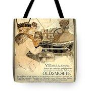1909 - Oldsmobile Advertisement - Color Tote Bag