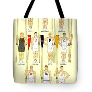 1910 - College Crew Poster - Rowing - Edward Penfield - Color Tote Bag