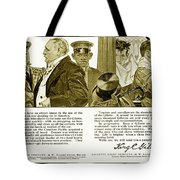 1910 - Gillette Mens Shaving Advertisement Tote Bag