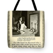 1910 - Ivory Soap Christmas Proctor And Gamble Advertisement  Tote Bag