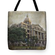 1910 Harris County Courthouse  Tote Bag