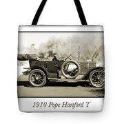 1910 Pope Hartford T Tote Bag