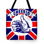 1910 Union Jack Cheerio Tote Bag