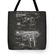 1911 Automatic Firearm Patent Artwork - Gray Tote Bag