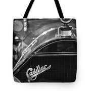 1911 Cadillac Roadster Grille And Hood Ornament Tote Bag by Jill Reger