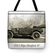 1911 Pope Hartford W Tote Bag