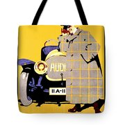 1912 - Audi Automobile Advertisement Poster - Ludwig Hohlwein - Color Tote Bag