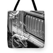 1912 Rolls-royce Silver Ghost Rothchild Et Fils Style Limousine Snake Horn -0711bw Tote Bag
