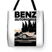1914 - Benz Automobile Poster Advertisement - Color Tote Bag