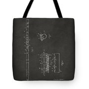 1914 Flute Patent - Gray Tote Bag