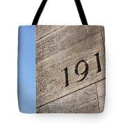1914 Tote Bag