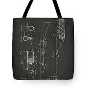 1915 Ithaca Shotgun Patent Gray Tote Bag