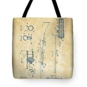 1915 Ithaca Shotgun Patent Vintage Tote Bag