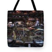 1917 Harley Davidson Tote Bag