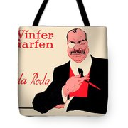 1918 - Wintergarten Poster - Roda Roda - Stephan Krotowski - Color Tote Bag