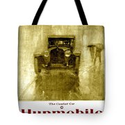 1918 - Hupmobile Automobile Advertisement - Color Tote Bag