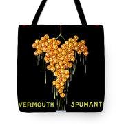 1919 - Conzano Vermouth Advertisement Poster - Color Tote Bag
